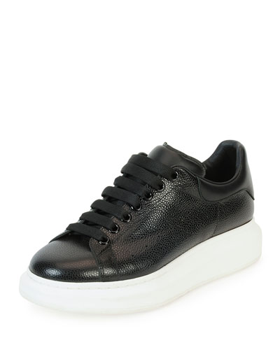 Lace-Up Sneaker, Black