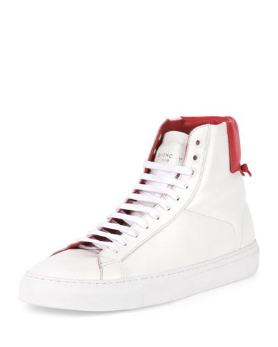 Urban Street High-Top Sneaker, Black