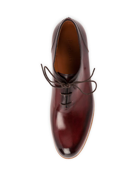 Alessio Lace-Up Oxford Shoe, Burgundy