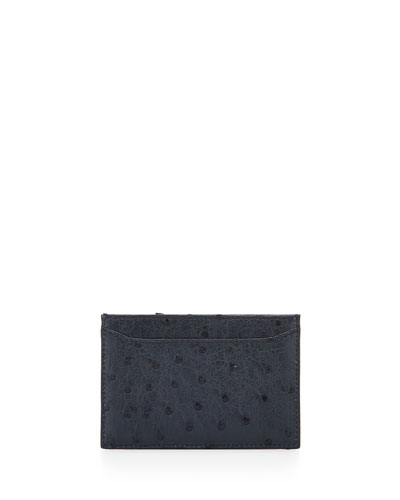 Ostrich Card Case