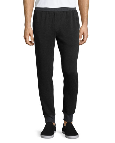 Long Knit Board Pants, Charcoal