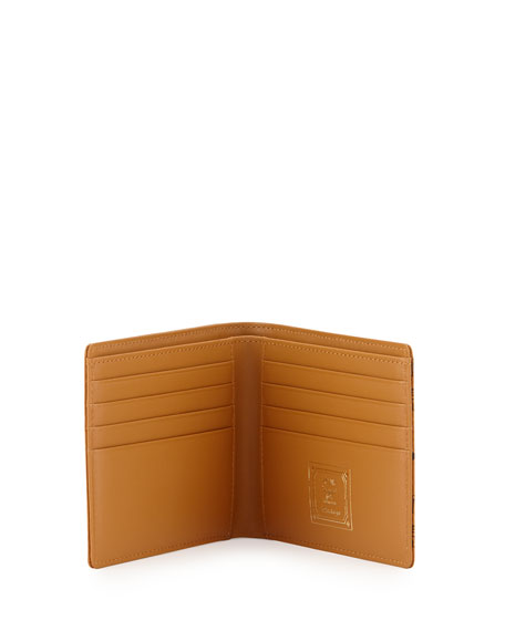 Heritage Coated Wallet, Cognac