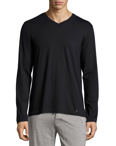 Harrison Long-Sleeve V-Neck Tee