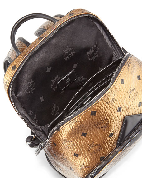 Duke Visetos Backpack, Gold