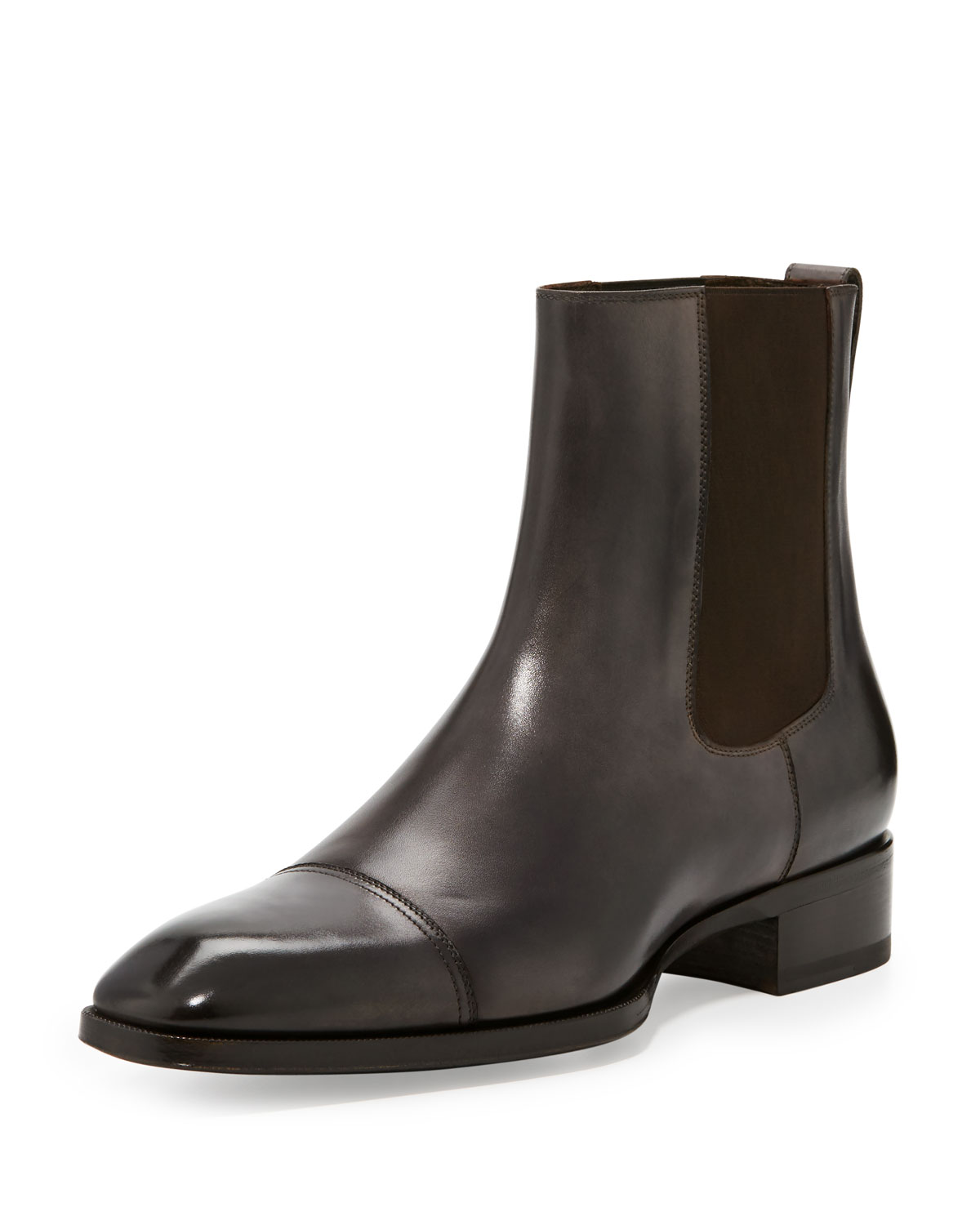 TOM FORD Gianni Leather Chelsea Boots