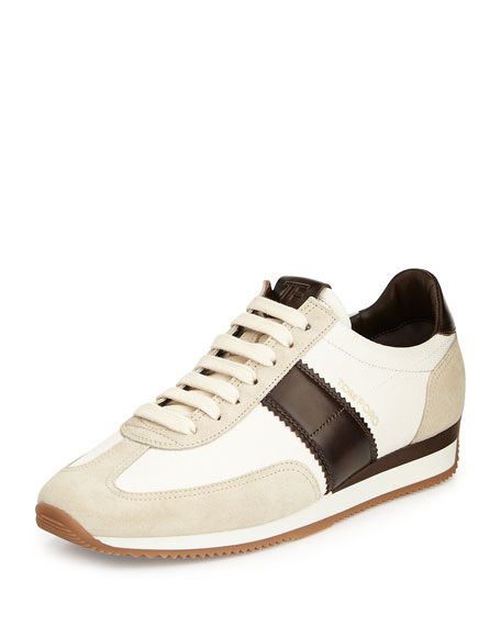 Orford Colorblock Trainer Sneaker, Brown