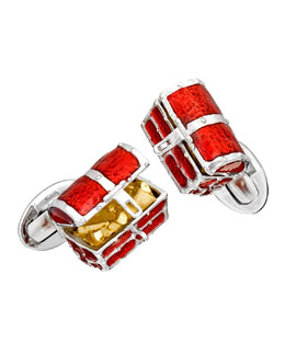Treasure Chest Cuff Links