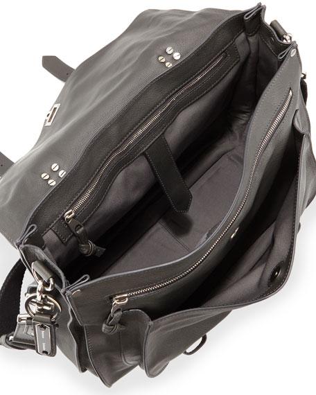 Extra-Large Buffalo Messenger Bag