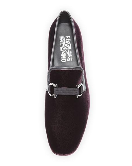 Velvet Formal Loafer, Bordeaux