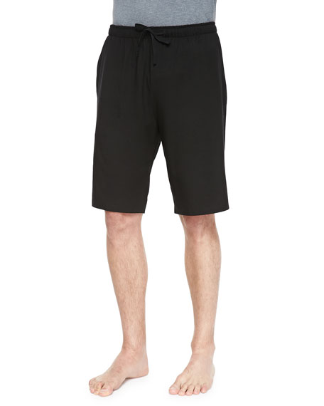 Basel 1 Jersey Lounge Shorts, Black