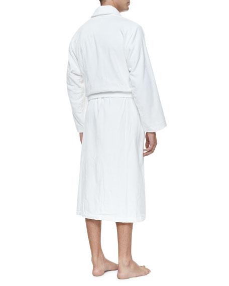 Terry Cloth Robe, White