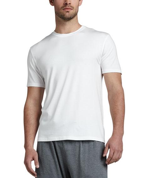Derek Rose Basel 1 Jersey Tee, White