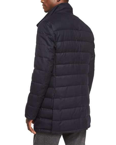 04f0f9509 Vallier Quilted Jacket Navy