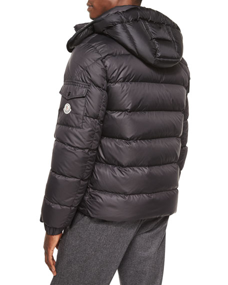 Moncler Black Himalaya Hooded Down Jacket for men