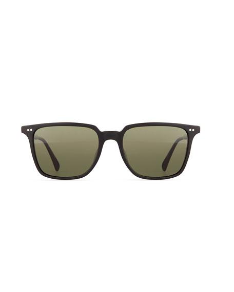 OPLL Sun 53 Polarized Sunglasses, Black