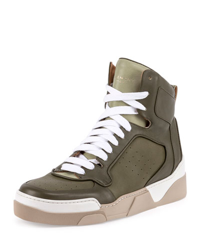 Tyson Leather High-Top Sneaker