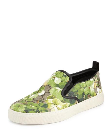 Gucci Blooms Print Slip-On Sneaker, Multi
