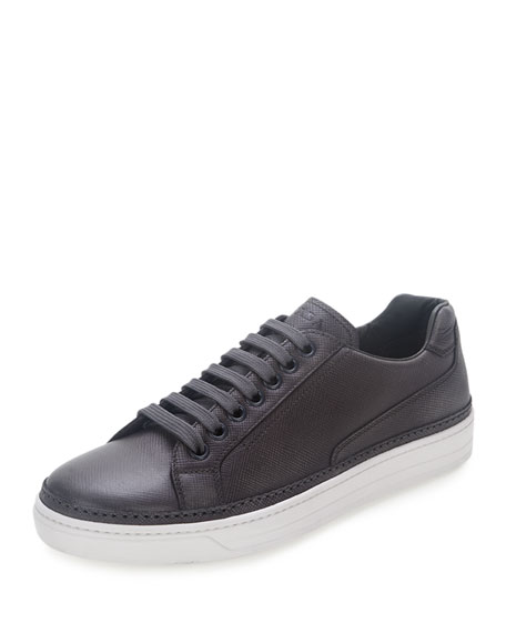 Prada Sport Saffiano Leather Sneakers enjoy for sale free shipping with mastercard collections b5zxDg