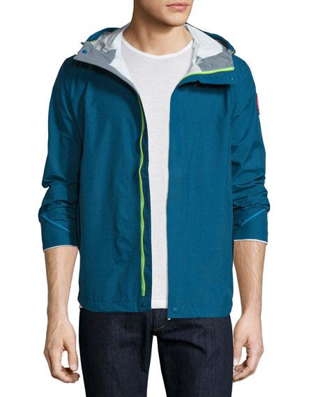 canada goose alderwood waterproof shell hooded jacket