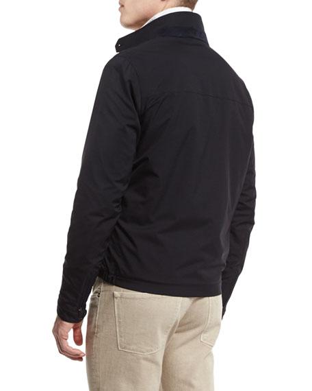 Roadster Pebble Beach Zip-Up Jacket, Blue Navy