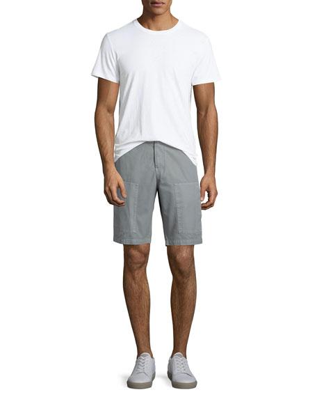 Cotton Cargo Shorts, Gray