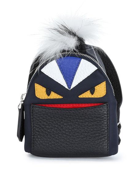 Fendi Micro Monster Backpack-Shaped Charm