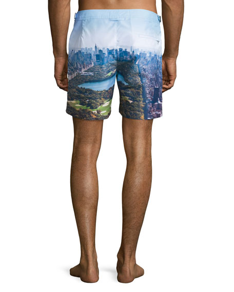 Bulldog Central Park Swim Trunks, Multi