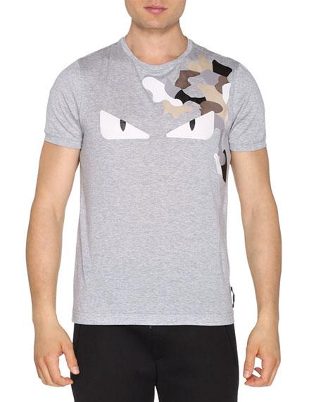 Monster Eyes Short-Sleeve T-Shirt, Charcoal