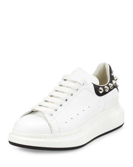 stud detail low-top sneakers - White Alexander McQueen OUgEtJ5B