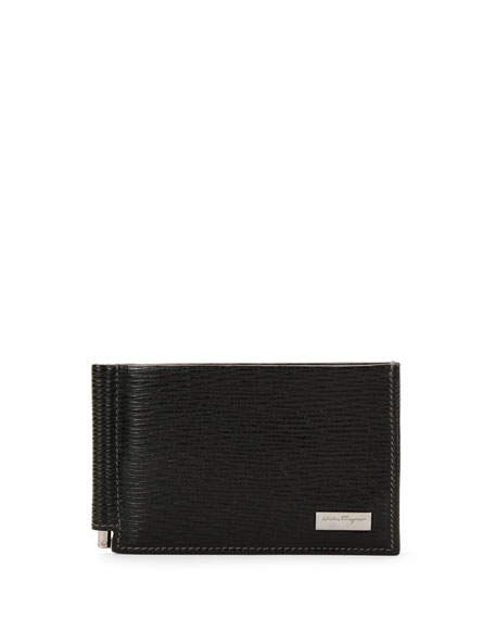 Revival Bifold Wallet W/Money Clip, Black