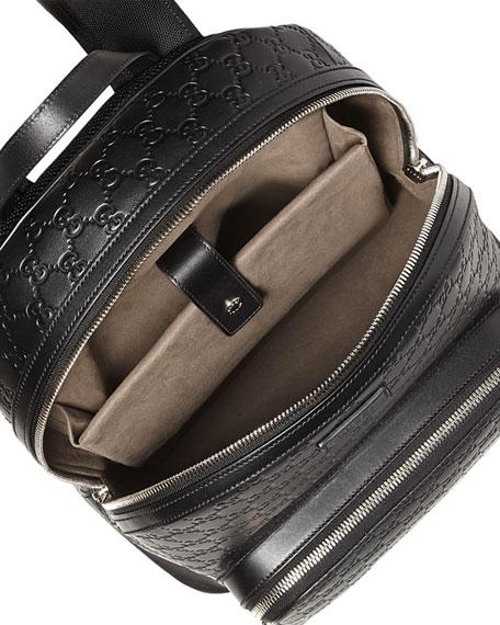 895ada91262 Gucci Signature Leather Backpack
