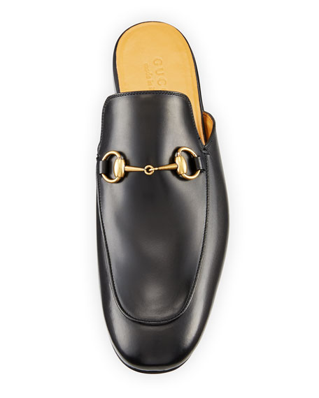 Kings Leather Horsebit Mule
