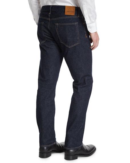 Straight-Fit New Indigo Stretch Jeans