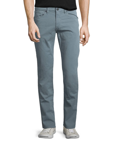 Tyler Slim-Fit Denim Jeans, Dusty Blue