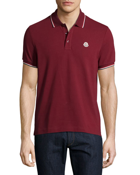 Tipped Piqué Polo Shirt