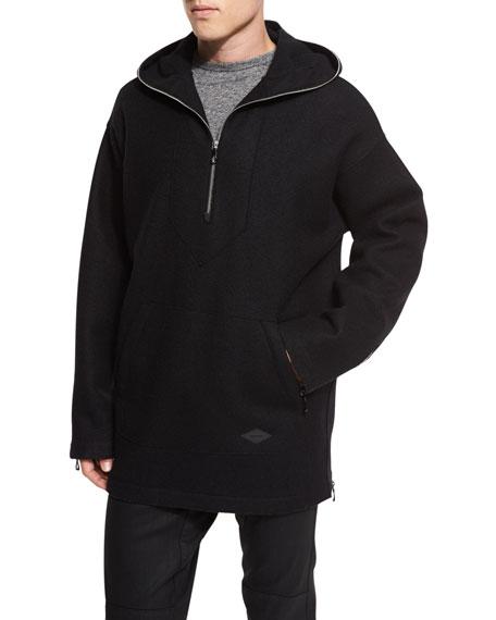 Drexel Oversize Hoodie, Black