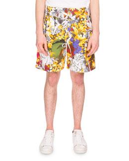 Jungle Book® Printed Casual Shorts, Multicolored