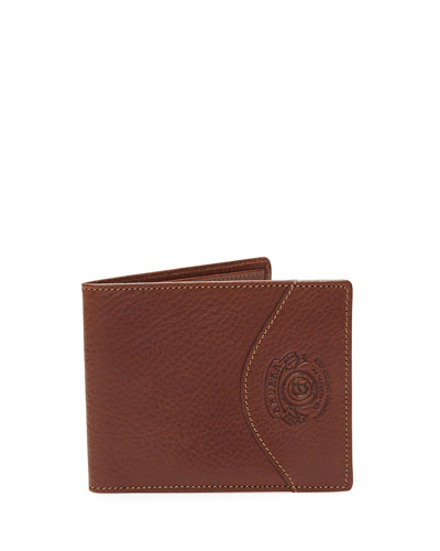 Classic Leather Wallet No. 203, Vintage Chestnut