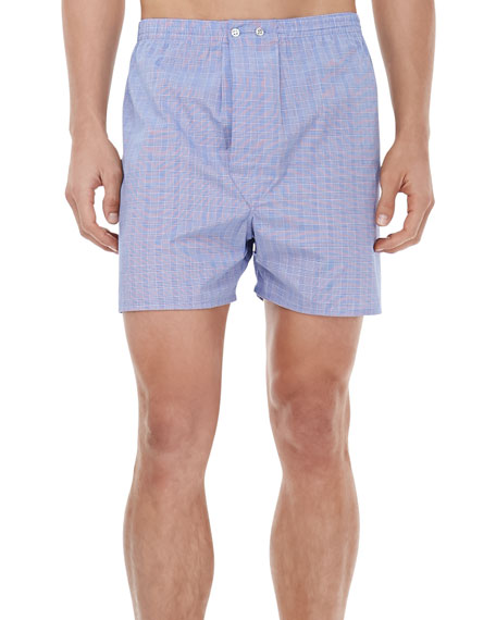 Derek Rose Felsted Classic Boxers, Glen Plaid