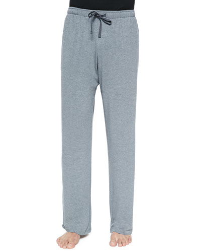 Basel Jersey Lounge Pants  Gray