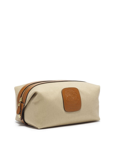 Ghurka Holdall No. 101 Twill Travel Toiletry Kit,