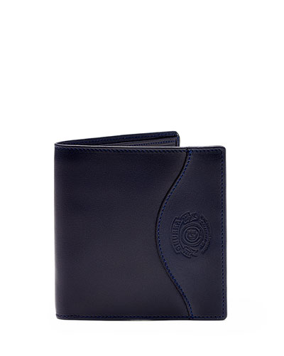 International Leather Wallet No. 104, Blue