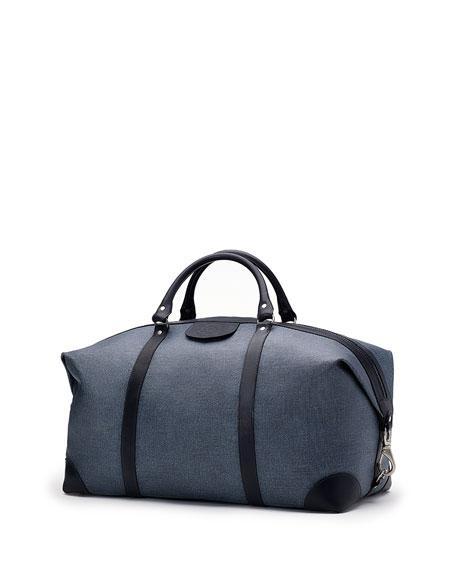 Cavalier II No. 97 Twill Duffel Bag, Blue