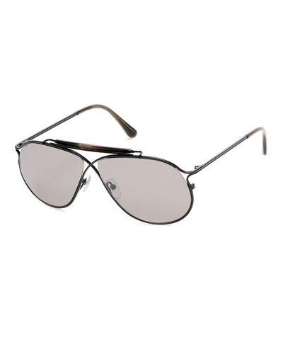 Tom N.6 Private Collection Titanium Sunglasses