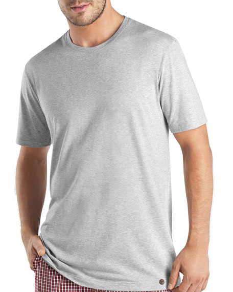 Night & Day Short-Sleeve T-Shirt, Silver Melange
