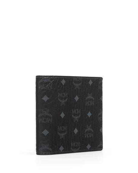 Claus Small Monogram Canvas Wallet