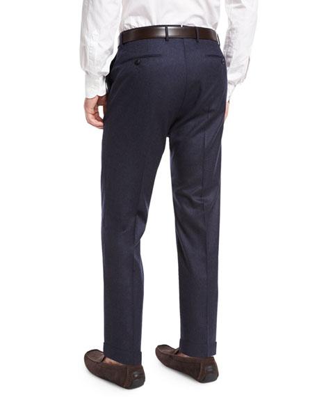 Benson Standard-Fit Wool Trousers