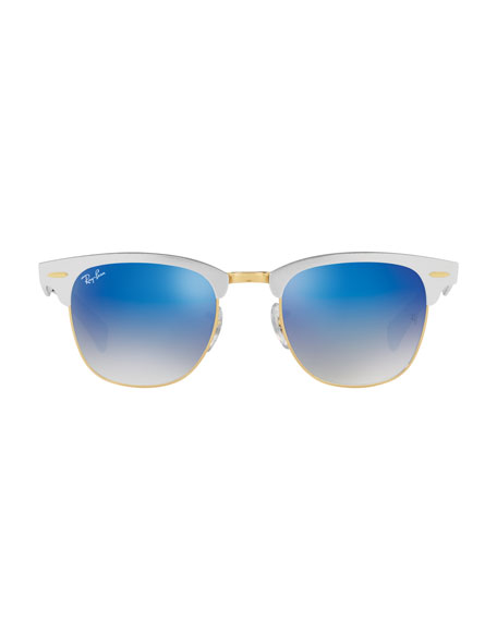Clubmaster® Gradient Sunglasses, Silver