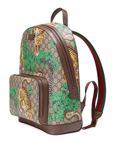 60f124ec83e6 Gucci Bengal GG Supreme Backpack