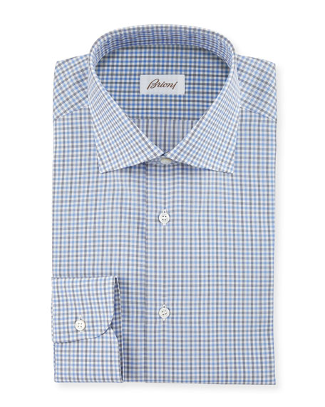 Check Woven Dress Shirt